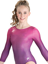 Purple Horizon Competitive Leotard from GK Elite