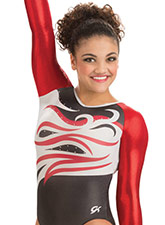 Cadence Competitive Leotard from GK Gymnastics