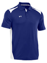 UA Mens Blue Colorblock Polo from Under Armour