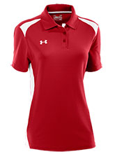 UA Women's Red Colorblock Polo from Under Armour