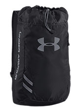 UA Black Trance Sackpack from Under Armour Gymnastics