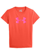 Girls UA Fire & Chaos Logo Tee from Under Armour Gymnastics
