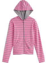 Girls UA Chaos & Steel Full Zip Hoody from Under Armour Gymnastics