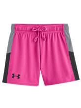 Girls UA Intensity Chaos Knit Short from Under Armour Gymnastics