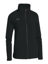 UA Women's Black Squad Woven Jacket from Under Armour
