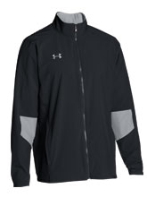 UA Men's Black Squad Woven Jacket from Under Armour