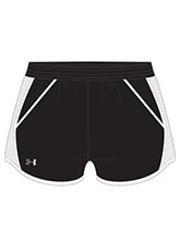 UA Women's Black Fly By Shorts from Under Armour