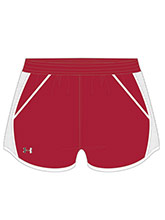 UA Women's Red Fly By Shorts from Under Armour