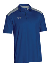 UA Men's Royal Colorblock Polo from Under Armour