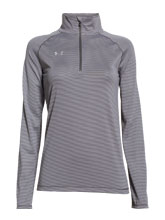 Women's Graphite UA Novelty Tech 1/4 Zip from Under Armour