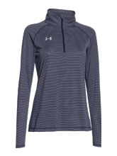 Girl's Midnight UA Novelty Tech 1/4 Zip from Under Armour
