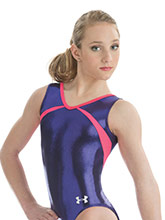 UA Dazzle Tank Leotard from Under Armour Gymnastics