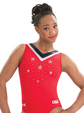 UA Triumph Replica Leotard from Under Armour Gymnastics