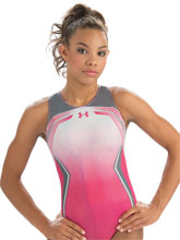 UA ArmourFuse Pink Tank from Under Armour Gymnastics