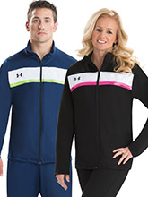 UA Tenacity Relaxed Warm-Up Jacket from Under Armour Gymnastics
