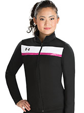 UA Tenacity Women's Fitted Warm-Up Jacket from Under Armour Gymnastics