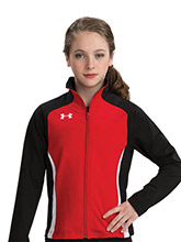 UA Valor Women's Fitted Warm-Up Jacket from Under Armour Gymnastics