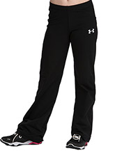 UA Women's Fitted Warm-Up Pants from Under Armour Gymnastics