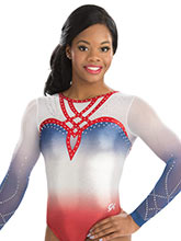 Chic Sweetheart Sublimated Leotard from GK Gymnastics