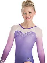 Refined Elegance Sublimated Leotard from GK Gymnastics