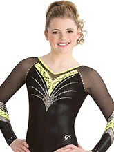 Laser Cut Lace Competitive Leotard from GK Elite