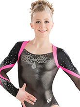 Enchanting Long Sleeve Leotard from GK Elite