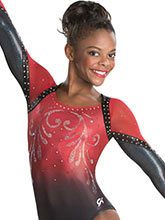Enchanting Sublimated Leotard from GK Gymnastics