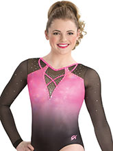Trimmed Up Sublimated Leotard from GK Gymnastics