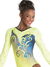Bouquet Beauty Sublimated Leotard  from GK Gymnastics