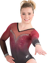 Timeless Contour Sublimated Leotard  from GK Gymnastics