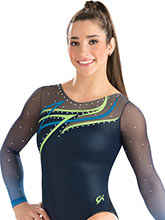 Northern Lights Sublimated Leotard from GK Gymnastics