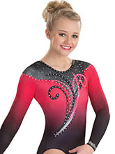 Wondering Swirl Sublimated Leotard from GK Gymnastics