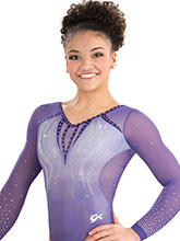 Charisma Curve Sublimated Leotard from GK Gymnastics