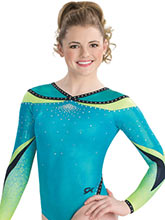 Princess Cut Sublimated Leotard from GK Gymnastics