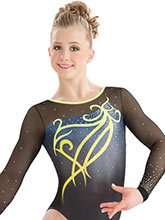Fairytale Sublimated Leotard  from GK Gymnastics