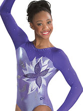 Botanical Dream Sublimated Leotard  from GK Gymnastics