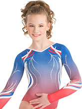 Balanced Breeze Sublimated Leotard from GK Gymnastics