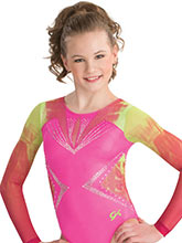 Diamondnista Sublimated Leotard from GK Gymnastics