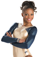 Delicate Force Long Sleeve Leotard from GK Elite