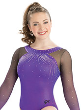Delicate Force Long Sleeve Leotard from GK Gymnastics