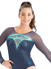 Stained Glass Long Sleeve Leotard from GK Elite