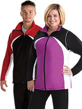 Gymnastics Warm-Up Jacket with Piping from GK Elite