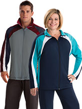 Raglan Curve Warm-Up Jacket from GK Elite