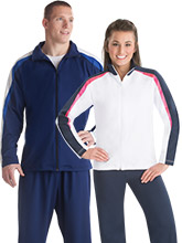 Retro Striped Warm-Up Jacket from GK Gymnastics