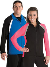 Sleek Relaxed Fit Warm Up Jacket from GK Cheer