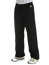 Men's Relaxed Fit Tapered Warm-Up Pants from GK Gymnastics
