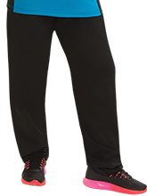 Women's Relaxed Fit Tapered Warm-Up Pants from GK Gymnastics
