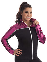 Double Take Fitted Warm-Up Jacket from GK Gymnastics