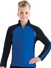 Sideline Fitted Warm-Up Jacket from GK Gymnastics