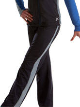 Side Stripe Warm-Up Pants from GK Gymnastics